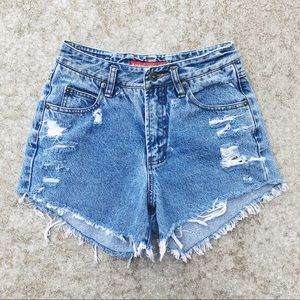 Vintage Union Bay Distressed Cut Offs